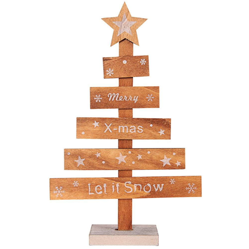 Wooden Tree Shopping Mall Wedding Holiday Home Decoration Christmas Ornament Festival Letters Diy Gift Hotel Desktop Cute Table Christmas Decorative Boxes Christmas Decorative Items From Copy02 30 59 Dhgate Com