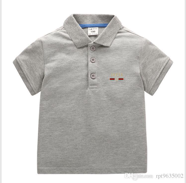 جديد الاطفال ملابس الأطفال ملابس تي شيرت طفل الفتيان الربيع الخريف نمط الحرف الأزياء بلايز كم قصير