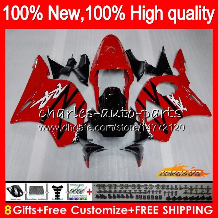 Bodywork For HONDA CBR954RR CBR900RR stock red new CBR900 CBR954 RR 02 2003 77HC.3 CBR 900CC 954 900 CC RR CBR 900RR 954RR 2002 03 Fairing