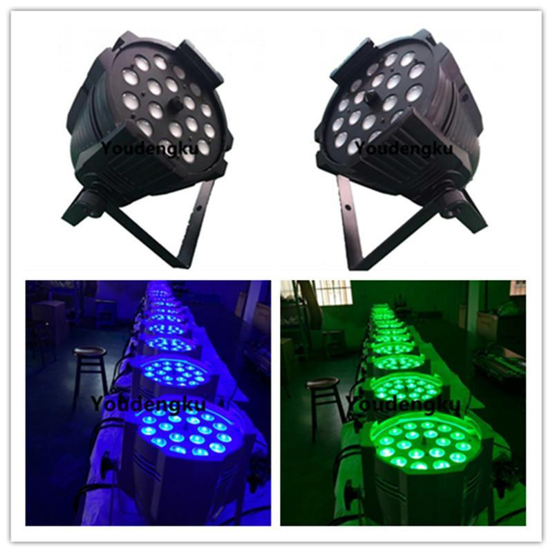 4 Pieces Rgbw 4in1 Zoom Impermeable Dmx Led Par Rgbw Wash Zoom Par 18x10w Led Par 64