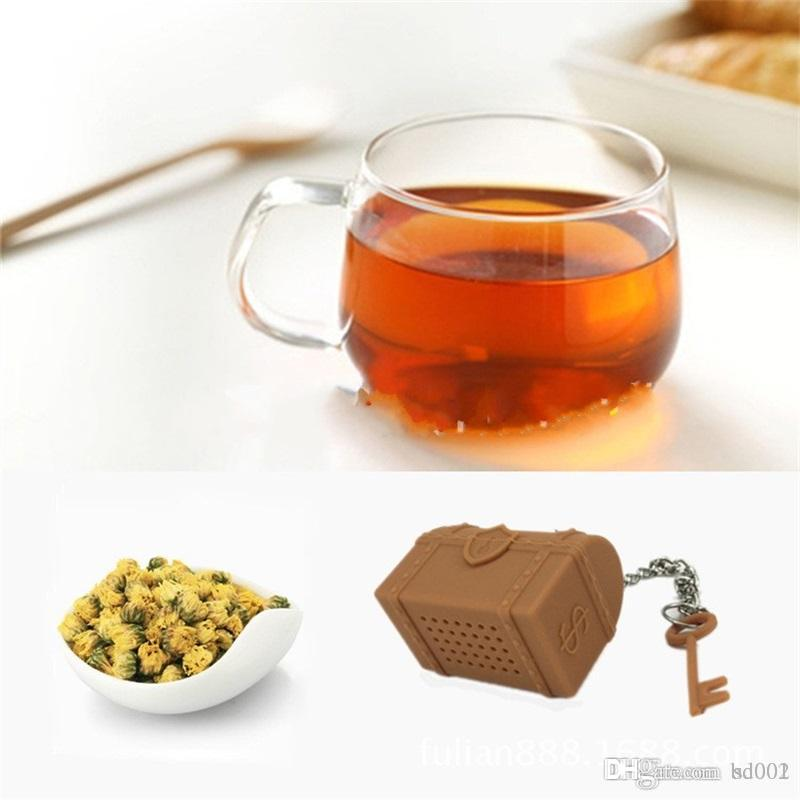 Treasure Box Teas Maker Silica Gel Tea Infuser Christmas Small Gift Home Life Supplies Toy Mini Storage 6 9flC1