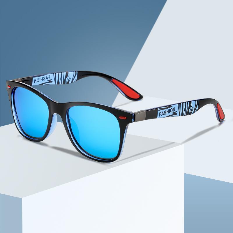 Brand Design óculos polarizados Men Square Driving Sun Óculos Vintage Women Sunglass UV400 Shades Eyewear gafas de sol
