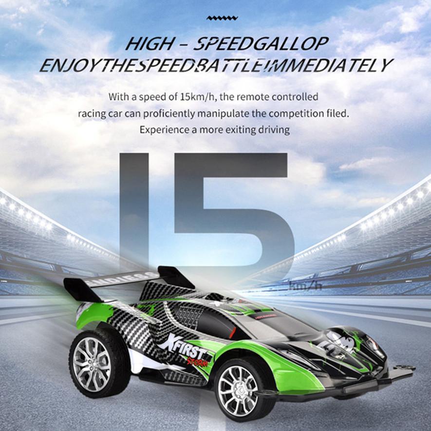 Kid Spielzeug 01.16 kühles RC-Rennwagen Fun Fernbedienung Rennwagen Spielzeug mit hohen Geschwindigkeit 4WD 03