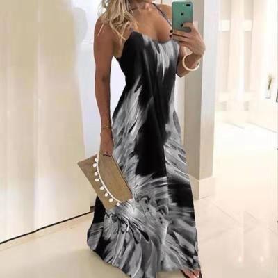 Frauen Sleeveless Strand-Kleider 2020 der neuen Ankunfts-Sommer-Frauen-reizvolle gedruckte Kleider Tops Qualität Frauen Kleidung 12 Farben Größe PH-YF203124