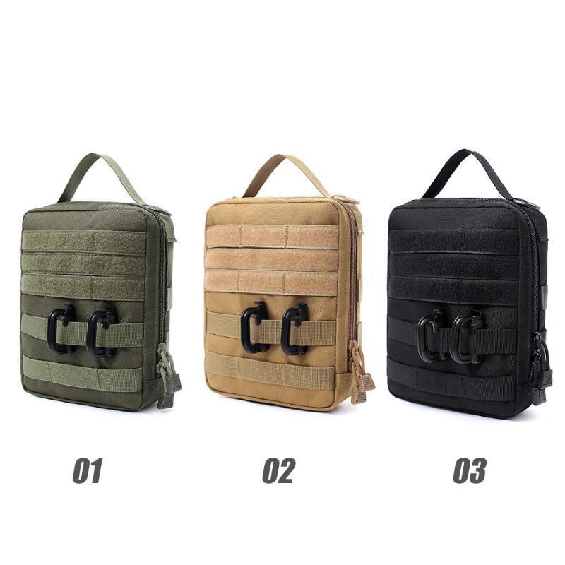 De haute qualité Molle ceinture Sac pochette imperméable taille Sports Pack gibecières Zipper Sacs Portable camping et la randonnée Sac