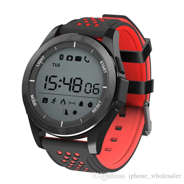 F3 Smart Watch Altitude Meter Sports Bluetooth IP68 Waterproof Swimming Smart Wristwatch Pedometer Tracker Smart Bracelet For Android iPhone