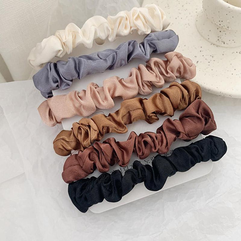 Mädchen-Frauen-Samt-elastisches Haar Scrunchie Scrunchy Haarband-Hauptband-Pferdeschwanz-Halter-Mädchen Kind-Haar-Bänder Haar-Riegel-Zubehör
