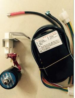 """Высокое качество 220-240VGAS Блок управления зажиганием с искримым воспламенен + игноритор иглы + 1/4 """"Соленоидный клапан Автоматический газовый зажигание, горелка"""