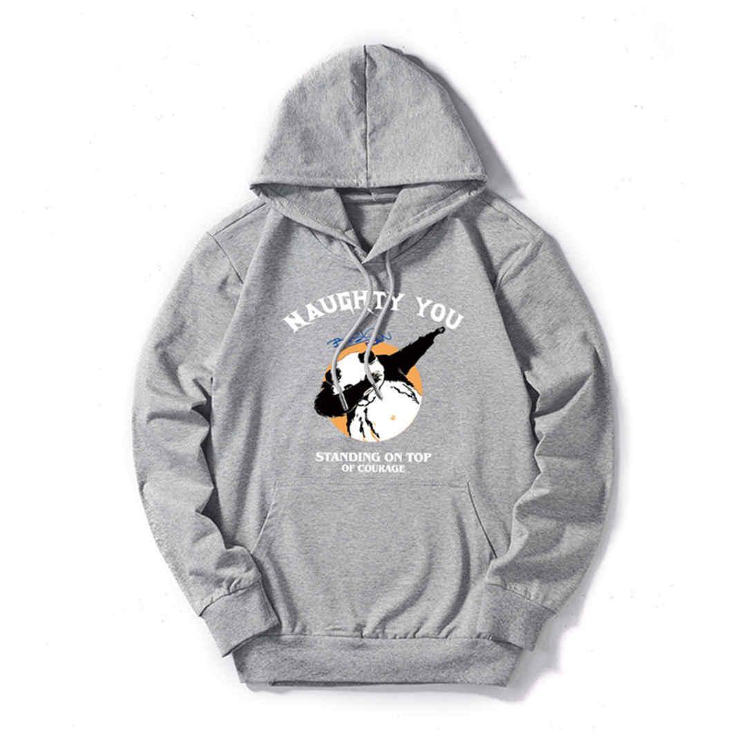 Мужские Дизайнерские Толстовки Роскошные Толстовки Мужские Толстовки Женщин Streerwear Модные Брендовые Пуловеры Kungfu Pandas 5 Цветов Высокого Качества