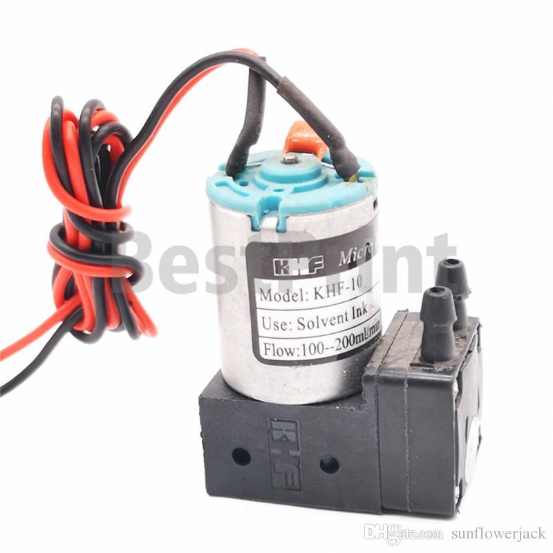 3W 24V KHF-10 ink pump for large format solvent printer infiniti crystaljet phaeton icontek Liyu witcolor