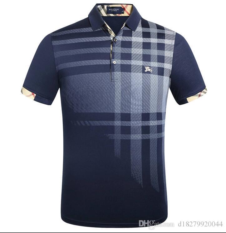 verano de manga corta impresa leche camiseta de algodón ropa de 3D-m XXL Golf la camiseta de los nuevos hombres