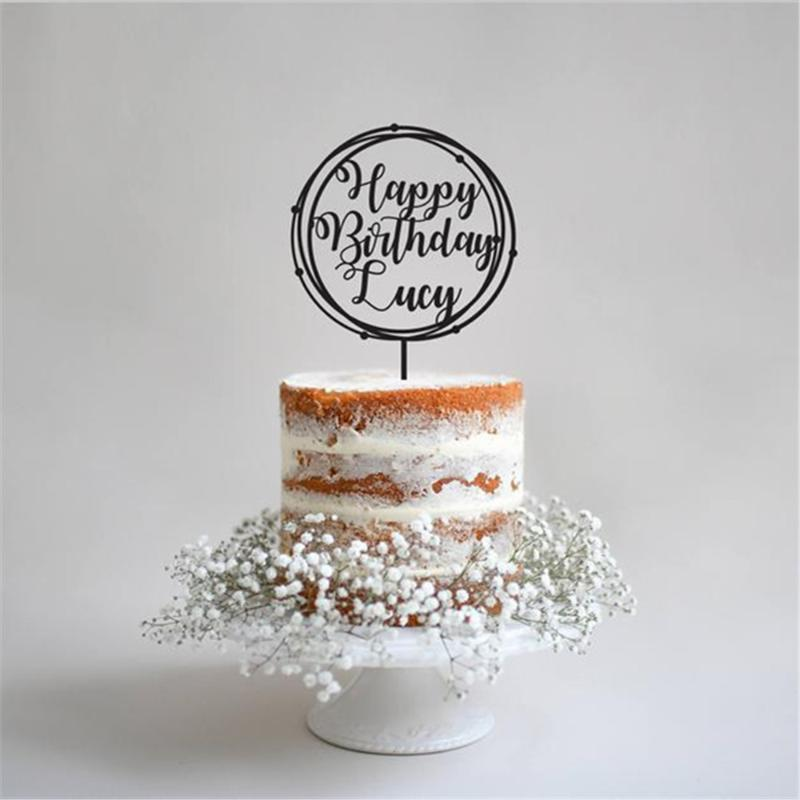 Sensational 2020 Happy Birthday Cake Topper Personalized Wooden Acrylic Cut Funny Birthday Cards Online Aeocydamsfinfo