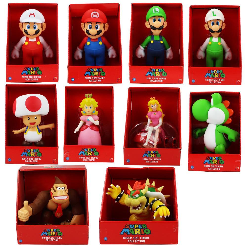 Super Mario Bros Action Figure Poupée Figurine Collection Jouet Cadeaux Enfants