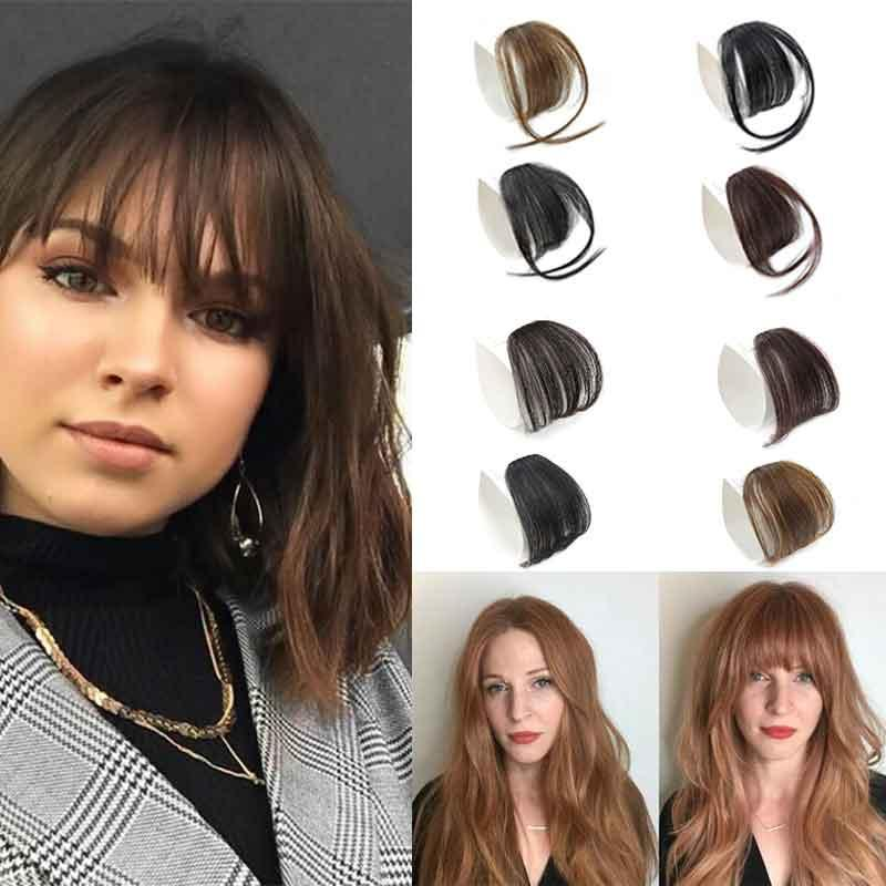 Air Bang Hair Extensions Real Human Hair Bangs Clip In Side Bangs Straight Fringe Hair Extensions Short Hair Styles With Bangs Hair Style With Bangs From Zhengsan521 8 05 Dhgate Com