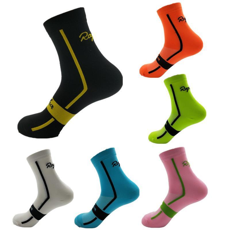 Rapha Unisex Nefes Sport Açık Bisiklet Çorap Koşu Ayakkabı MTB Dağ Bisikleti Çorap