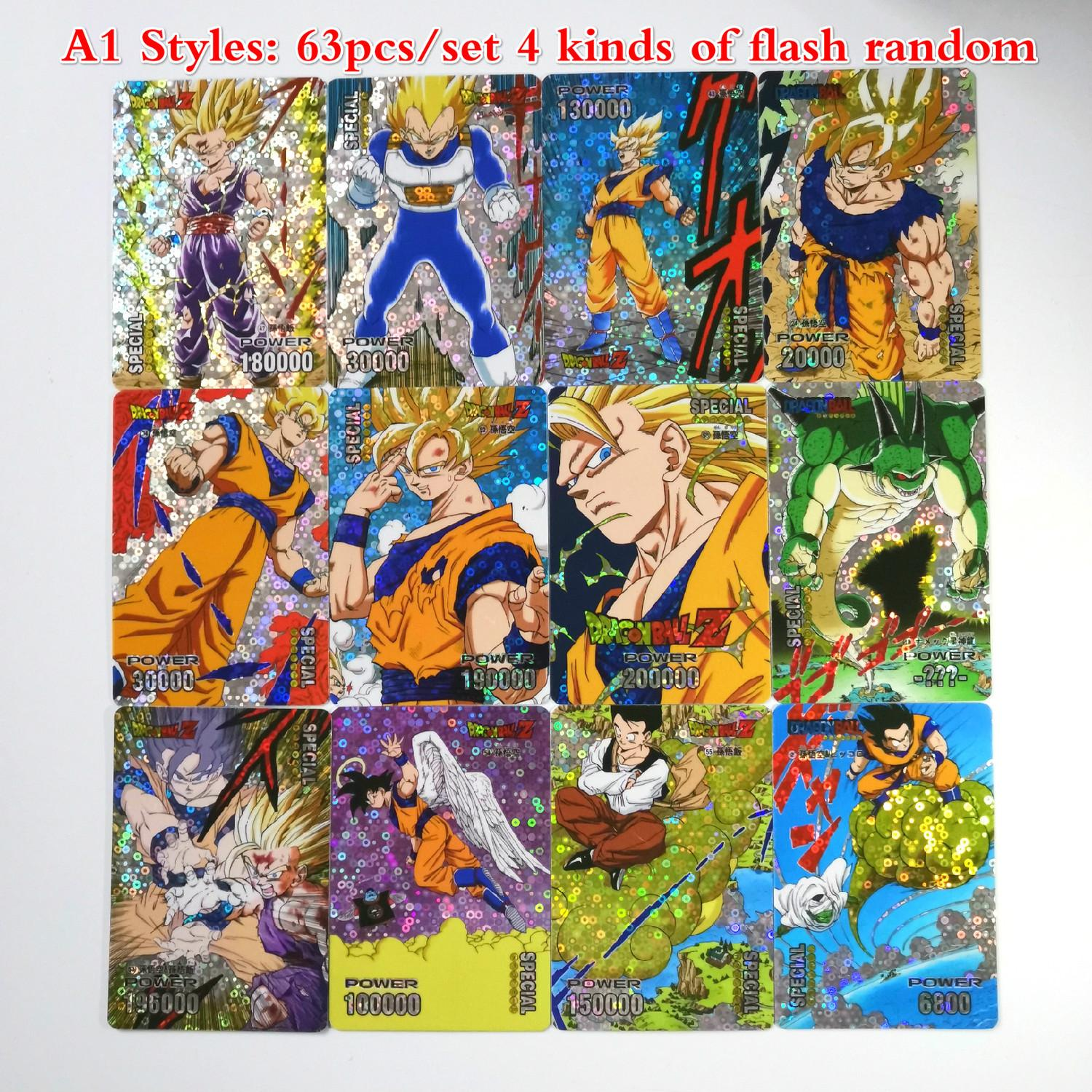 27 Styles Dragon Ball Z Super Ultra Instinct Limit BREAK Commemorative Edition Game Flash Card Collection Anime Cards Y191105