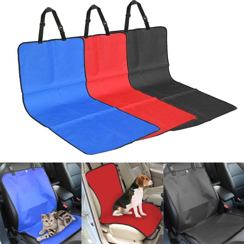 Water-proof Pet Carriers Car Seat Cover Dogs Cats Puppy Seat Mat Blanket Blanket Travel Accessories Auto Covers Cushion Mat