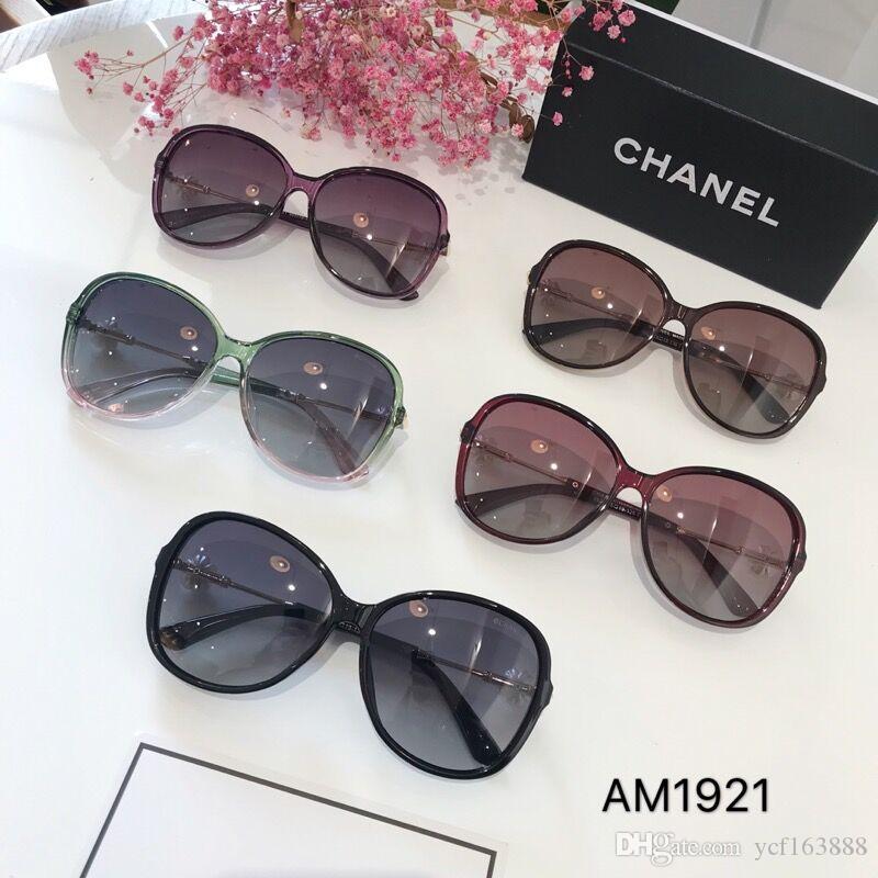 L'ultima vendita di occhiali da sole fashion designer popolare 0947 telaio piastra quadrata di alta qualità lente anti-UV400 con la scatola originale