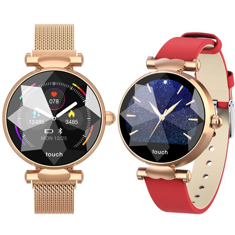 B80 Smart Watch Женщины фитнес-трекер Смарт-браслет IP67 Smartband Часы сердечного ритма артериального давления Smart Band фитнес-браслет
