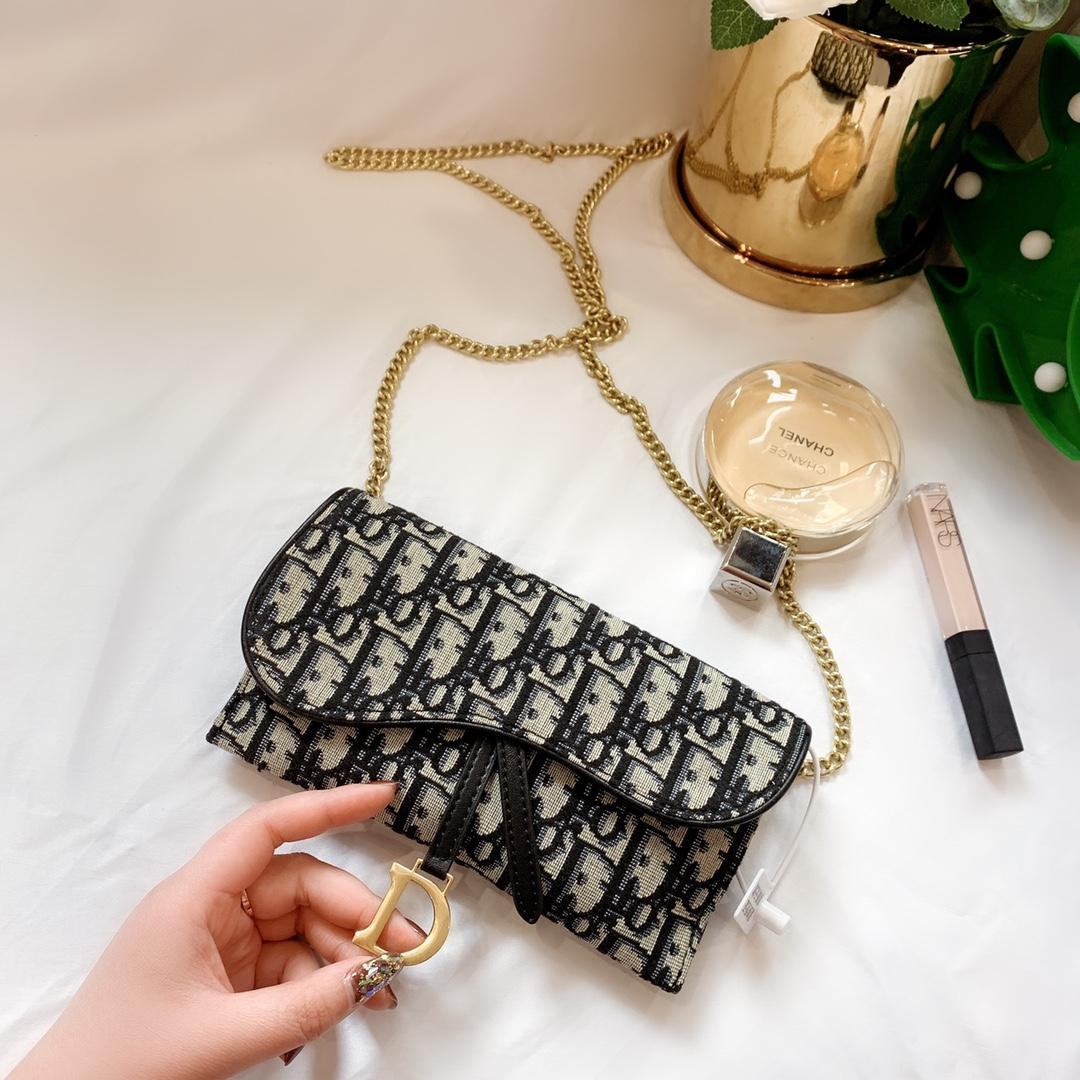 Livraison gratuite! Nouvelle chaîne de mode en cuir véritable Sacs à bandoulière Sac à main presbytie Mini Portefeuilles carte mobile Porte-Purse 8 # 105