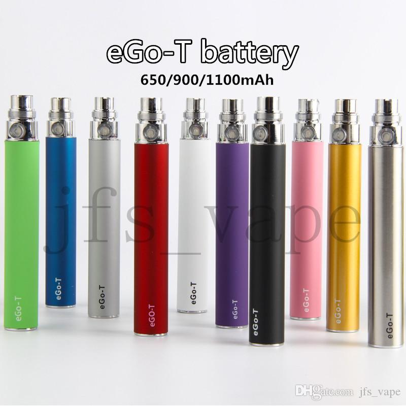 eGo-t Battery Vape eGo Evod Pen 510 Thread Batteries 650 900 1100 mah Vape Pen Come With USB Charger E-cigs Vaporizer Best Vapes
