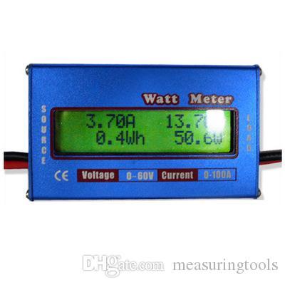 Совершенно новый цифровой 60V 100A баланс батареи ЖК-анализатор питания WATT Meter точный 0,01 CURRENT и 0,01 В.