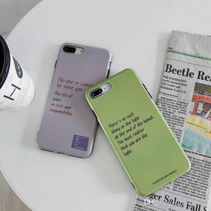 low priced 165ce 5ee36 Suitable For IphoneX Popular 7P Phone Case Iphone Xsmax Solid Color 8plus  Frosted Soft Shell 6s Men And Women Cool Cell Phone Cases Customized Cell  ...