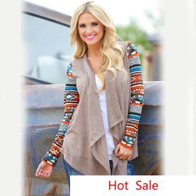 США Европа стиль женщины кардиган повседневная лоскутное контраст длинные рукава верхняя одежда тонкое пальто верхняя одежда для весны