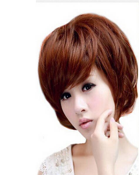 FREE SHIPPING + + Lady Natural Hair Women Long Short Straight Cosplay Costume Dress Wigs Kanekalon no lace Hair wigs