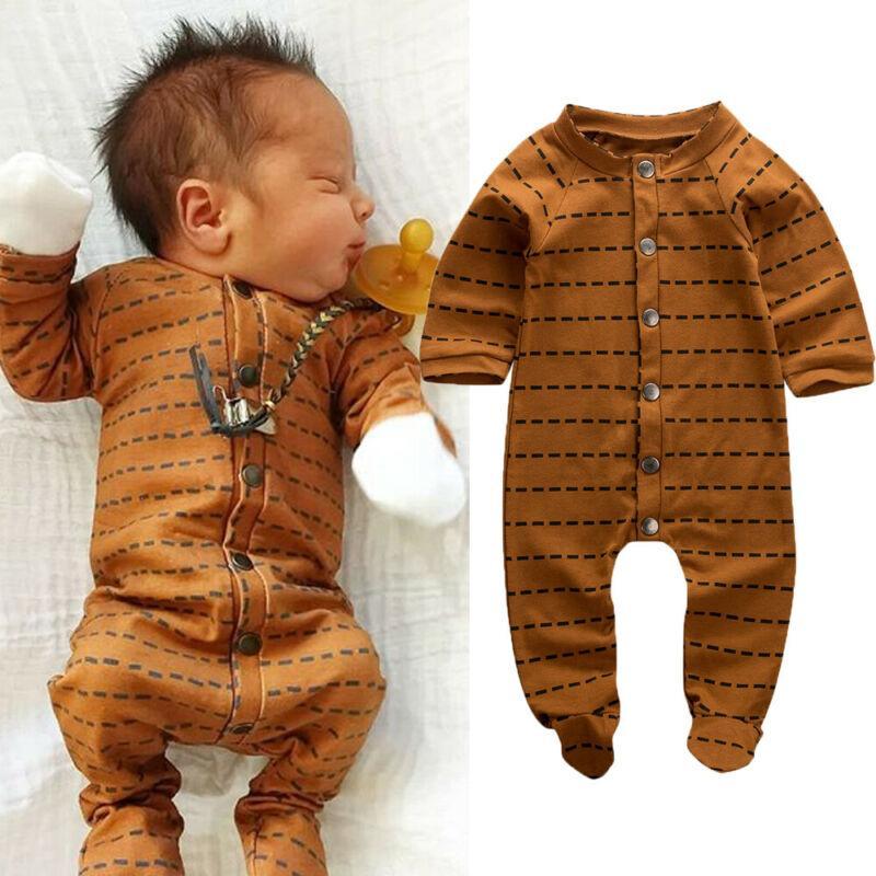 2019 Ropa de bebé recién nacido verano del muchacho del bebé de manga larga Romper Wrap Pie Mono invierno caliente tira de desgaste dormir