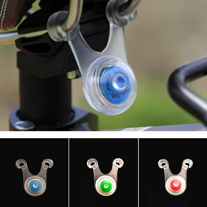 Portable Silicone Light Hanging Lights Bicycle Cushion Lamp Bike Lamp Cycling Equipment Outdoor LED 3color Silica Gel