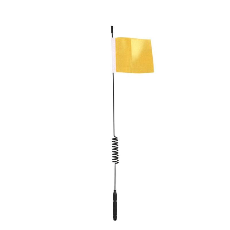 1Pcs Модель антенны L29cm Моделирование сигнала линии с флагом Для TRX4 RC Climbing Украшение автомобиля частей Аксессуары Модель Детские игрушки