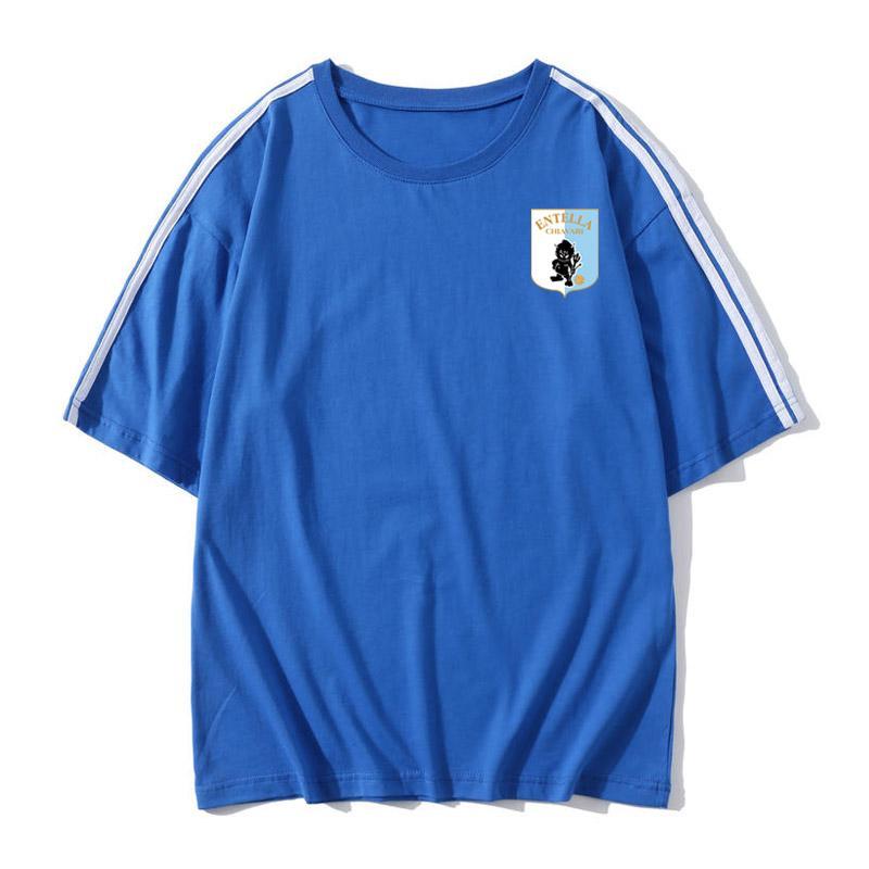 Энтелла футбол футболка футбол Джерси с коротким рукавом футболка Энтелла свободные мужчины футбол обучение кофта футбол поклонники рубашка топы тройники