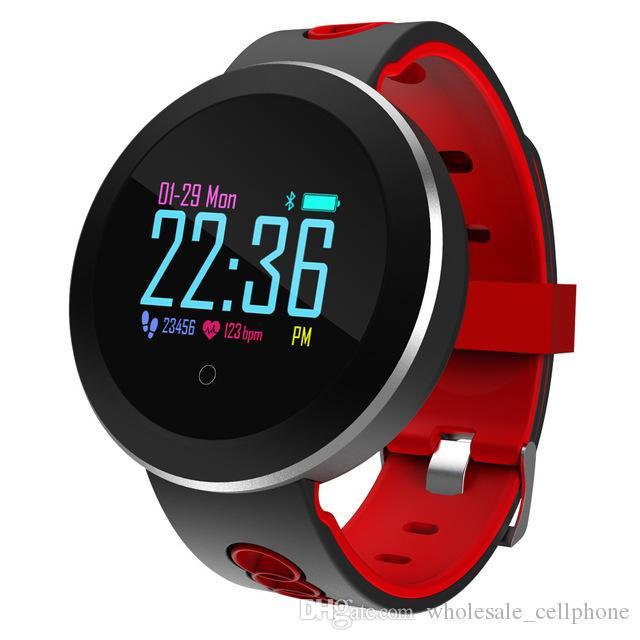 Q8 برو الذكية ووتش IP68 للماء الدم Prssure رصد معدل ضربات القلب سوار للياقة البدنية المقتفي بلوتوث الذكية ساعة اليد للحصول على الروبوت فون