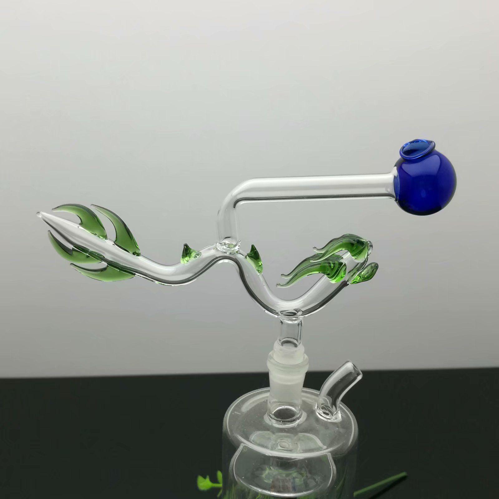 2020 новый классический кран горелки Стекло Бонги Стекло курительная трубка Водопроводные трубы Oil Rig Glass Чаши Oil Ожог