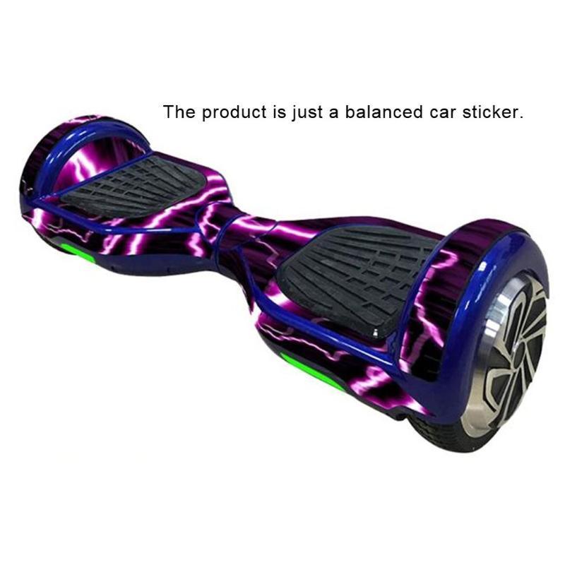 6.5 인치 셀프 밸런싱 보드 스쿠터 호버 보드 스티커 2 바퀴 전기 자동차 필름 2020 보호 비닐 피부 데칼