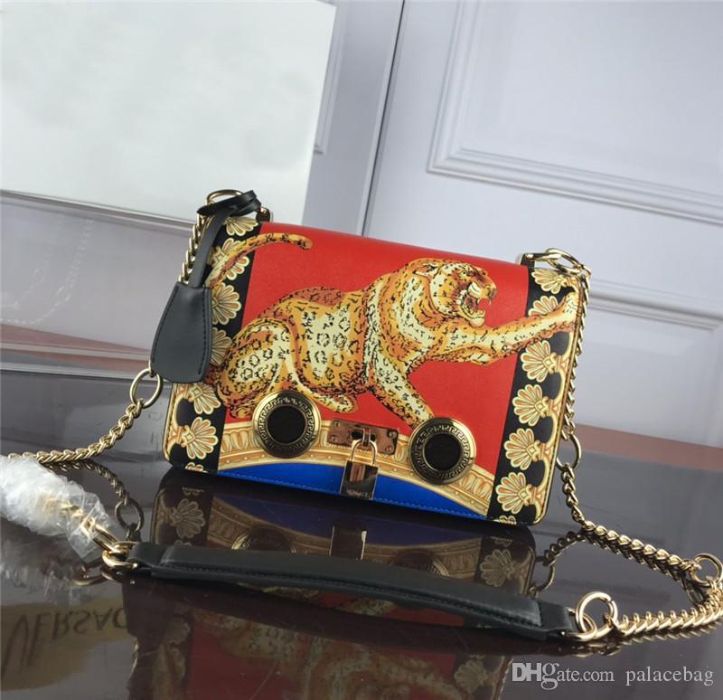Леопардовые веерные сумки с коробкой кожаные женские сумки открытый ночной клуб партия должна наплечные сумки мода должна быть горячей