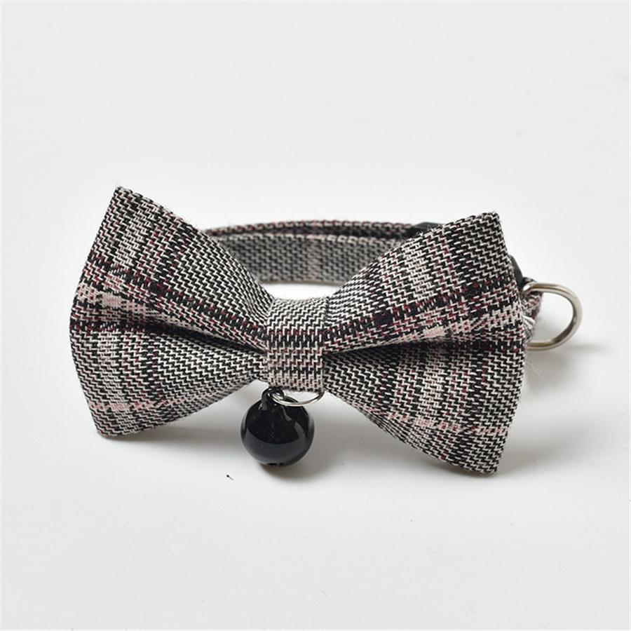 100 1 Pcs Lot Usb rechargeable Led clignotant Pet bowknot Collier réglable de sécurité pour chien Pet bowknot Collier Lumière 8 Couleurs # 483