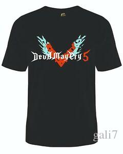 Devil May Cry T-Shirt Super Hero Vest Video Games Tee PS4 Switch Boooooom!! DMC5