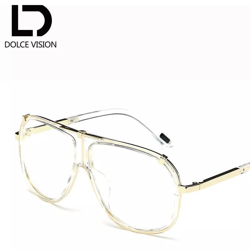 Atacado- DOLCE VISÃO Luxo Piloto masculino óculos de sol marca de moda Designer óculos de sol para homens 2,017 Preto Oculos Lunette Gradiente lenss