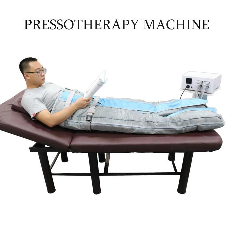 Profesional electro presoterapia máquina masaje de drenaje linfático de drenaje linfático
