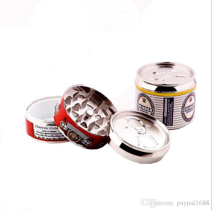 Творческий металлический шлифовальный станок для 3-слойных легко открываемых банок 50-миллиметровых фитингов из цинкового сплава