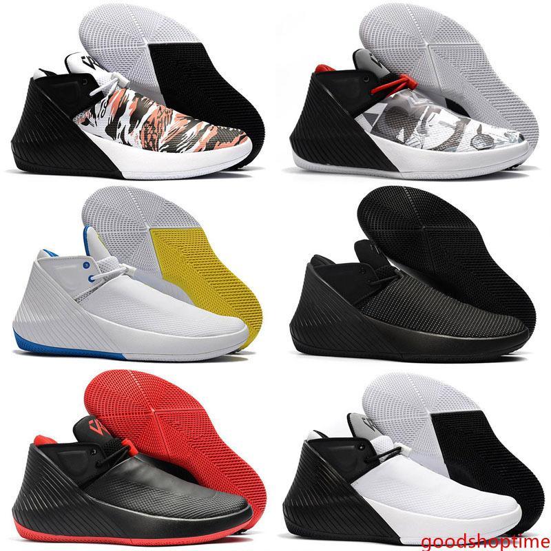 Новый Уэстбрук Почему не Zer0.1 Low Multicolor Баскетбол обувь Мужские Кроссовки Все Черный Белый Chaussures Дизайнер кроссовки США 7-12