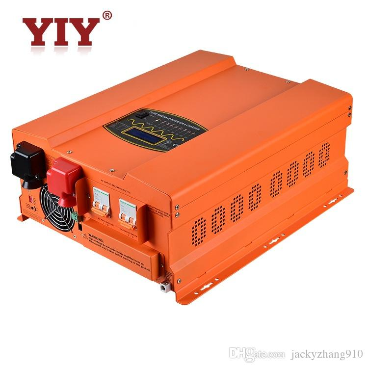 YIY HP&HP-PV DC12V/24V 1KW PURE SINE WAVE INVERTER CHARGER HIGH OUTPUT CAPACITY UP TO AC&DC EXCHANGE THD<3% 50/60Hz FREQUENCY ADJUST