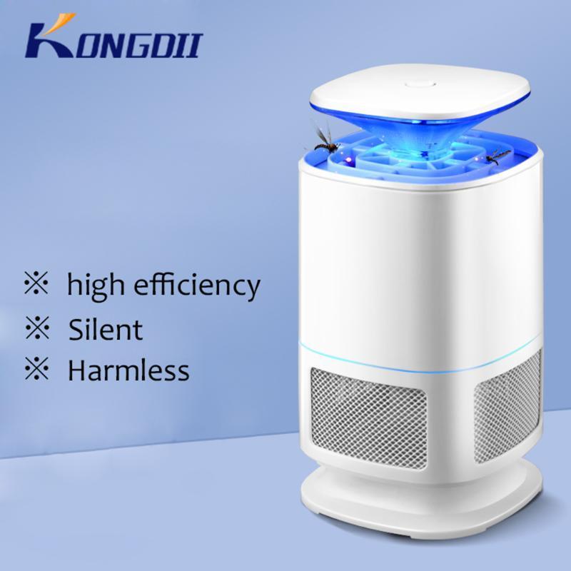 LED à haute efficacité tueur de moustique lampe / piège à lumière LED Pest Control électrique Anti repeller Bug Insectifuge Clairs