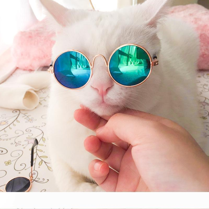 A 10 Pieces Hot Sale Pet Sunglasses for Cat Small Dogs Eyes Protection Sun Glasses Puppy Photos Props Eyewear