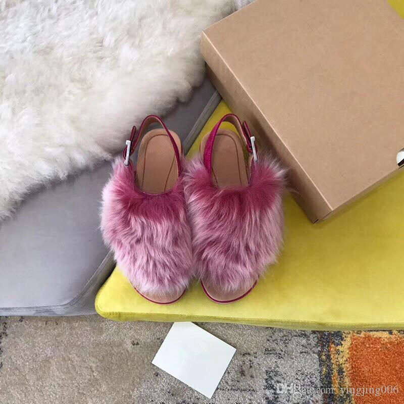 thoughts on best cheap top fashion Women Furry Slippers Australia Fluff Yeah Slide Designercasual ...