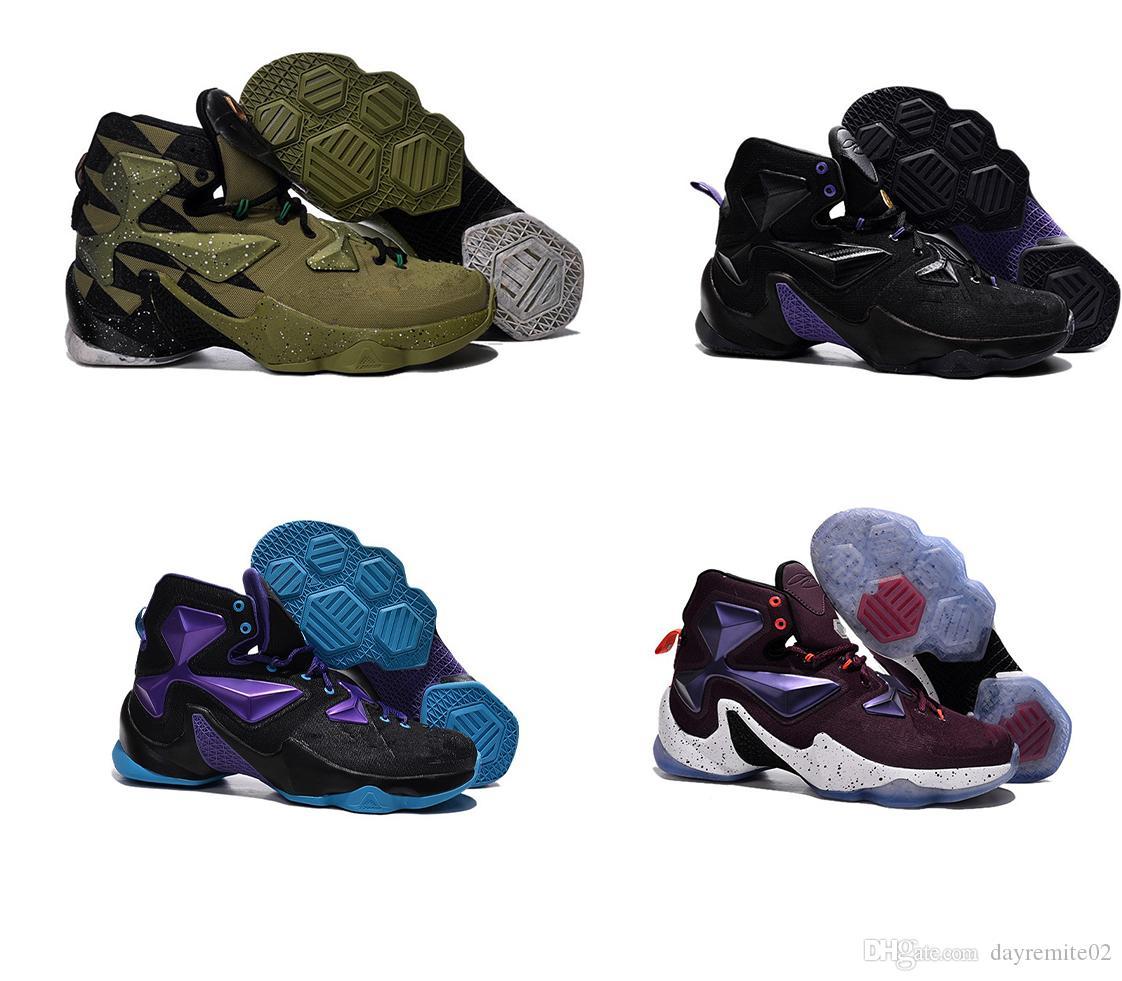 2019 Zapatillas de baloncesto para hombre de calidad superior 13 en venta MVP Navidad BHM Azul Pascua Halloween Akronite DB botas juveniles con zapatos casuales