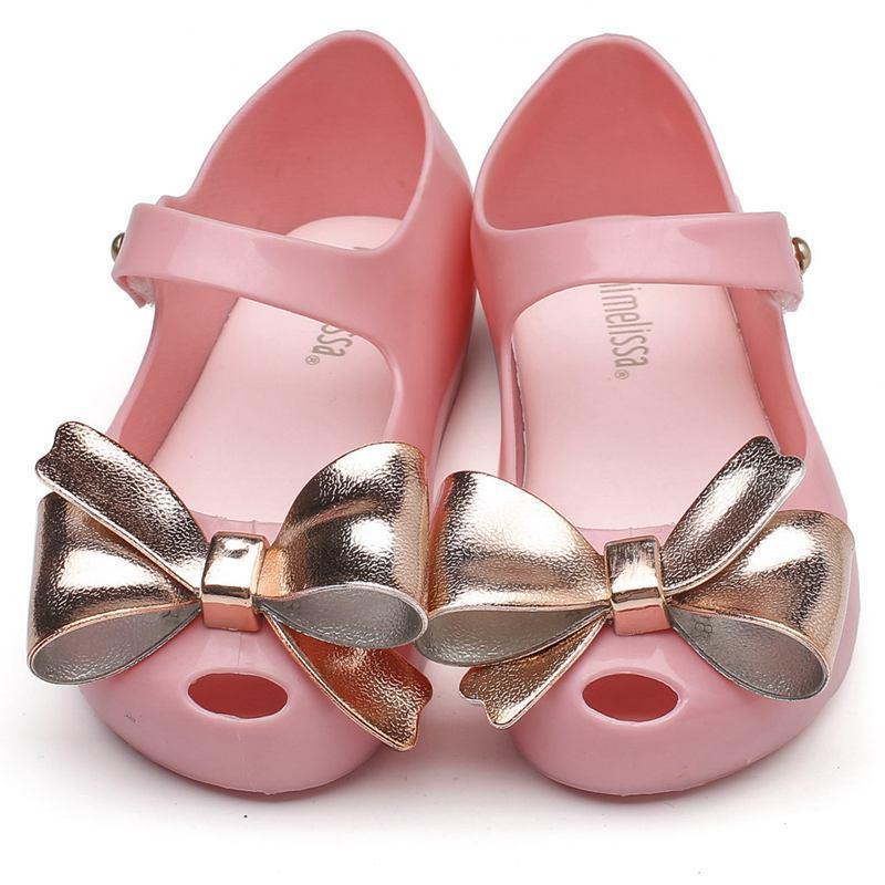 Melissa Child Girl SandaShoes Summer For Mini Shoes Girls Dargon Sandals Jelly Shoe Fish Mouth Girl Non-slip Kids Sandal Toddler