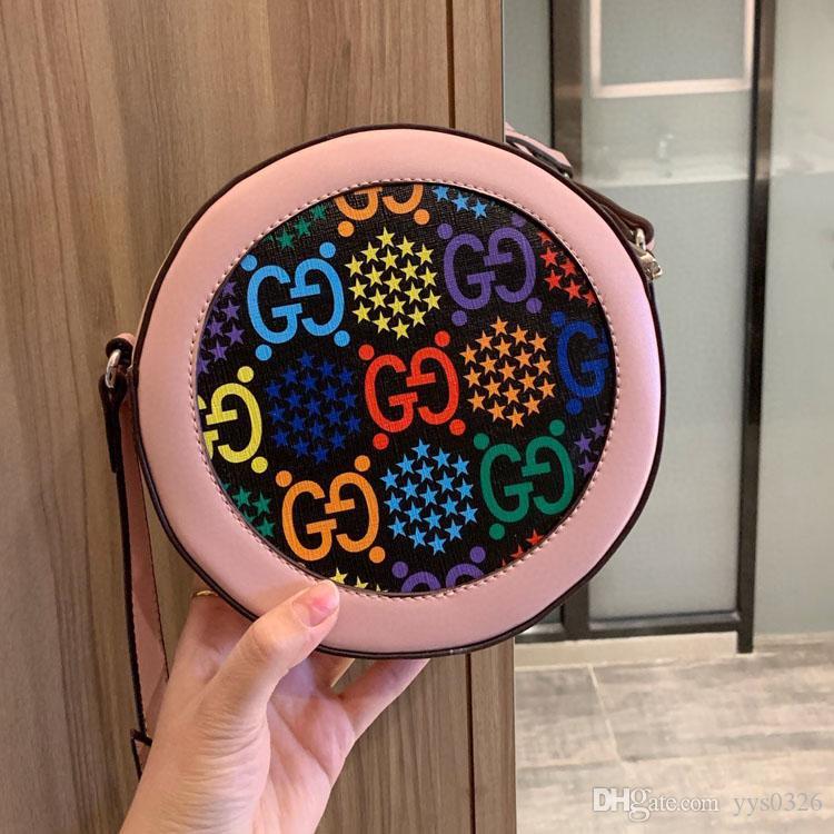 Sautant série de bonbons sac à dos de sac à main concepteur de luxe de concepteur de sac à bandoulière porte-monnaie rond concepteur sac à bandoulière porte-monnaie 7427086 styl